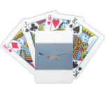 Gliding Laughing Gull Bicycle Playing Cards