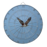 Gliding Osprey Dartboard With Darts