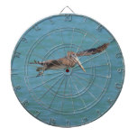Gliding Pelican Dartboard With Darts