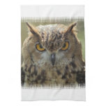 Owl Photo Kitchen Towel