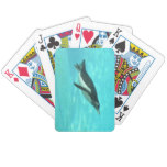 Penguin Swimming Underwater Bicycle Playing Cards