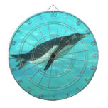Penguin Swimming Underwater Dartboard