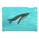 Penguin Swimming Underwater iPad Mini Cover