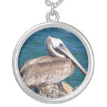 Resting Pelican Necklace