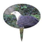 Standing American Bald Eagle Cake Topper