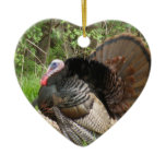 Tom Turkey Ceramic Ornament