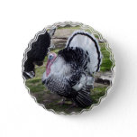 Turkey Round Button