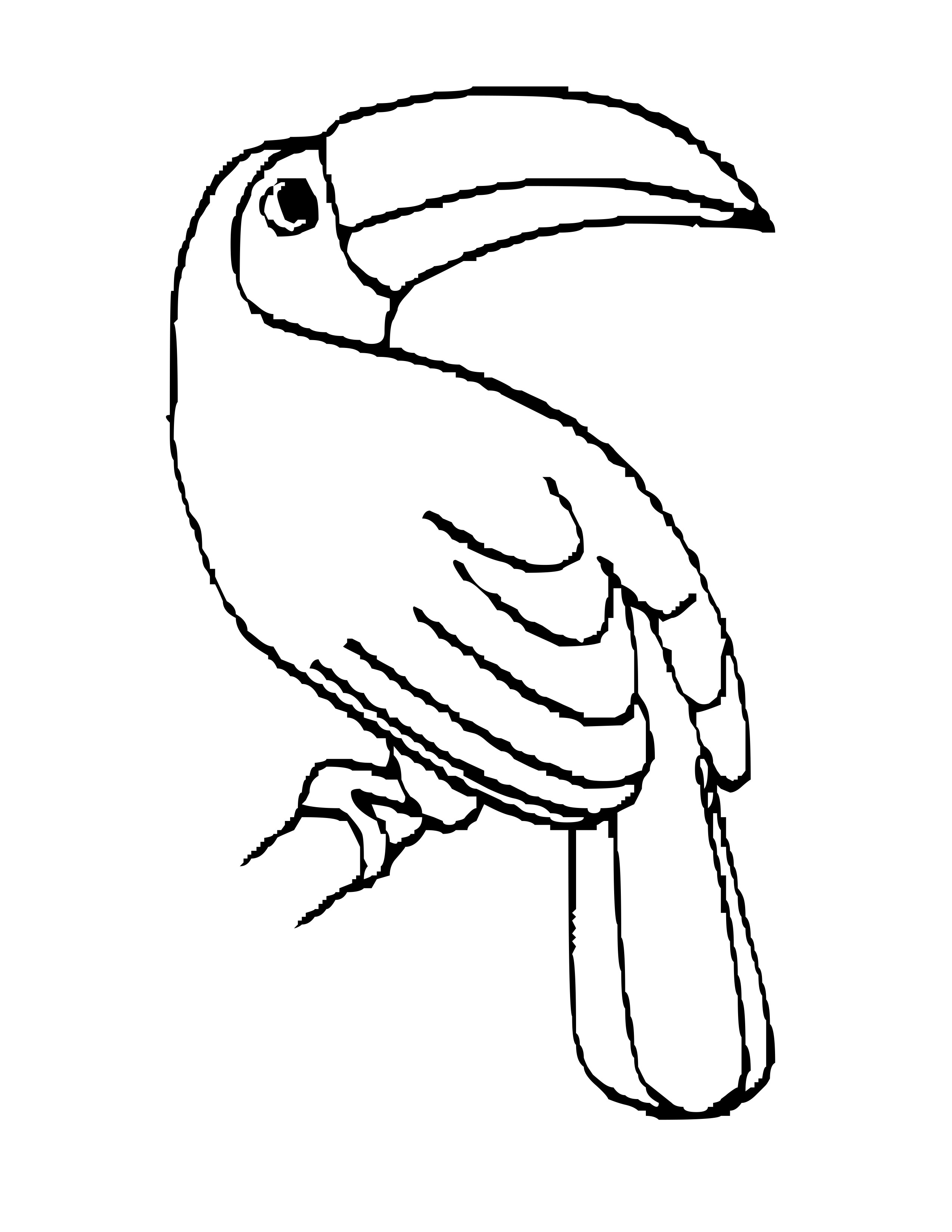 Free Coloring Pages Of Birds Of The Rainforest