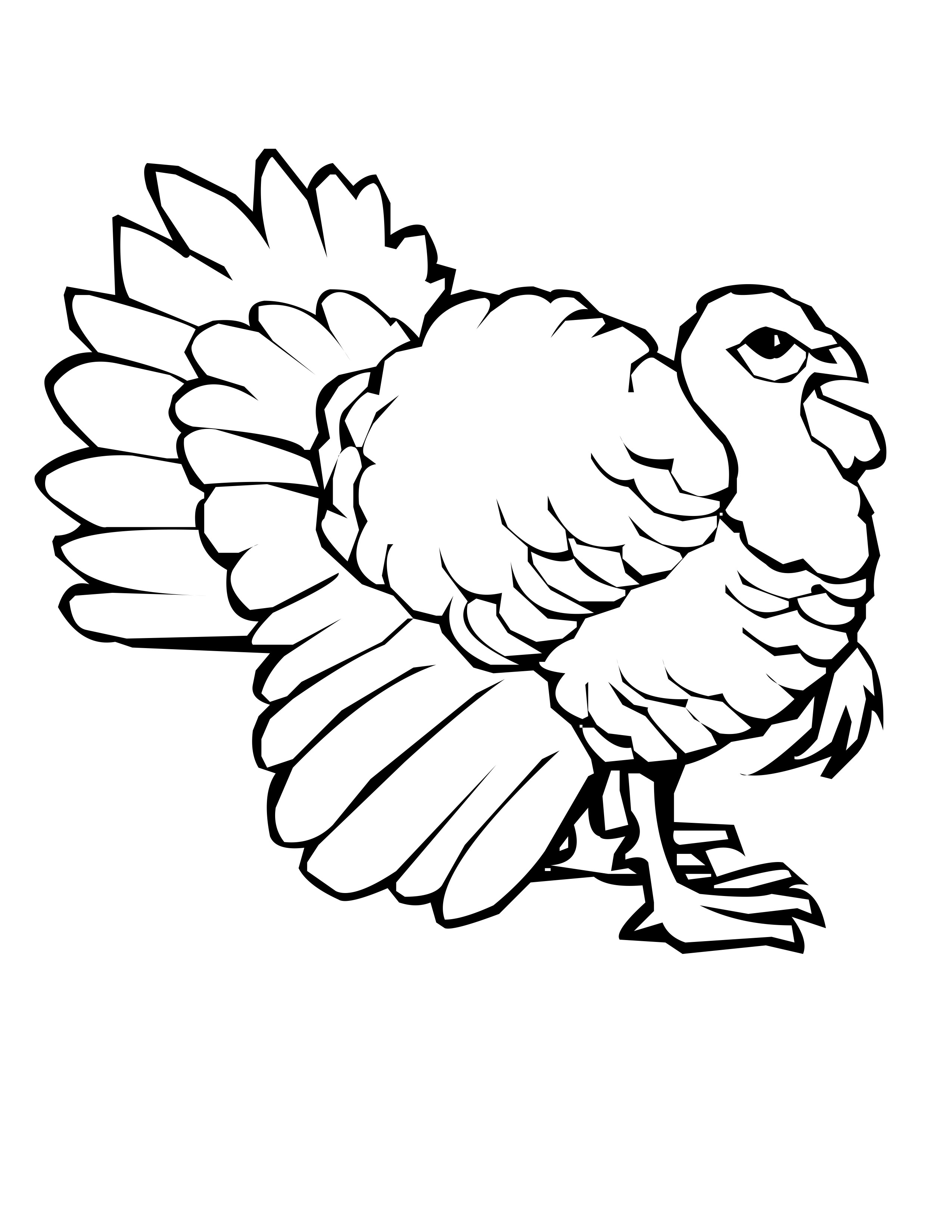 Baby Turkey Coloring Pages Coloring Coloring Pages